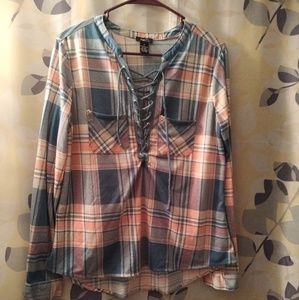 Rue 21 flannel top